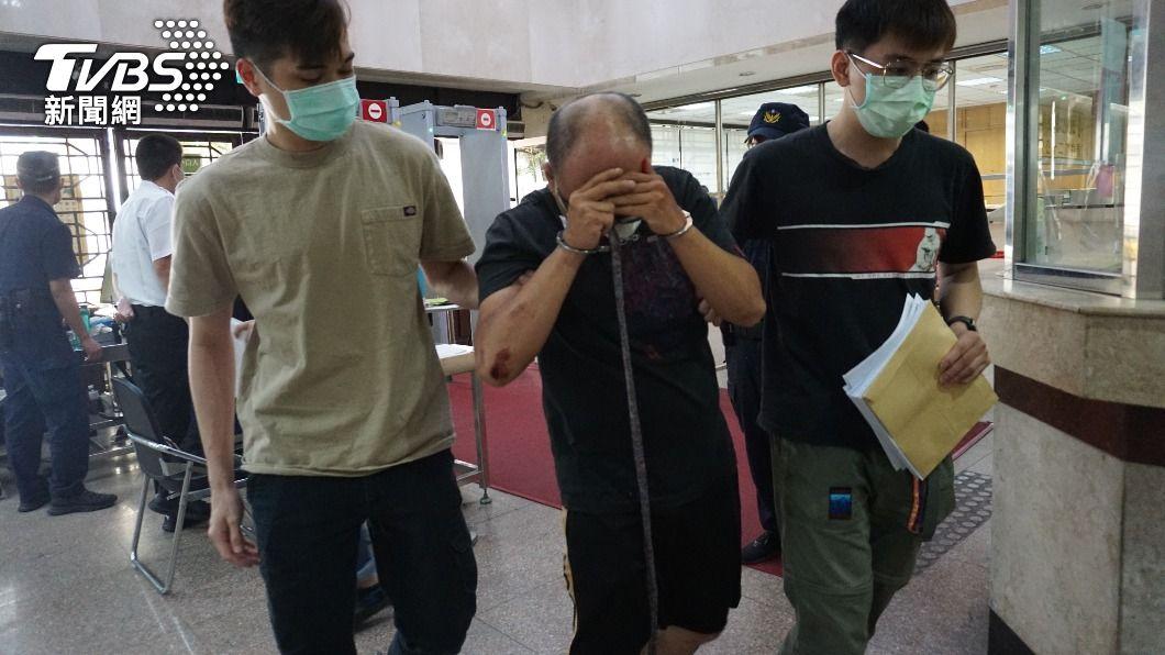 外送員涉殺害越南籍女子遭聲押。(圖/中央社) 越南籍女子租屋處遭殺害 涉案外送員遭北檢聲押
