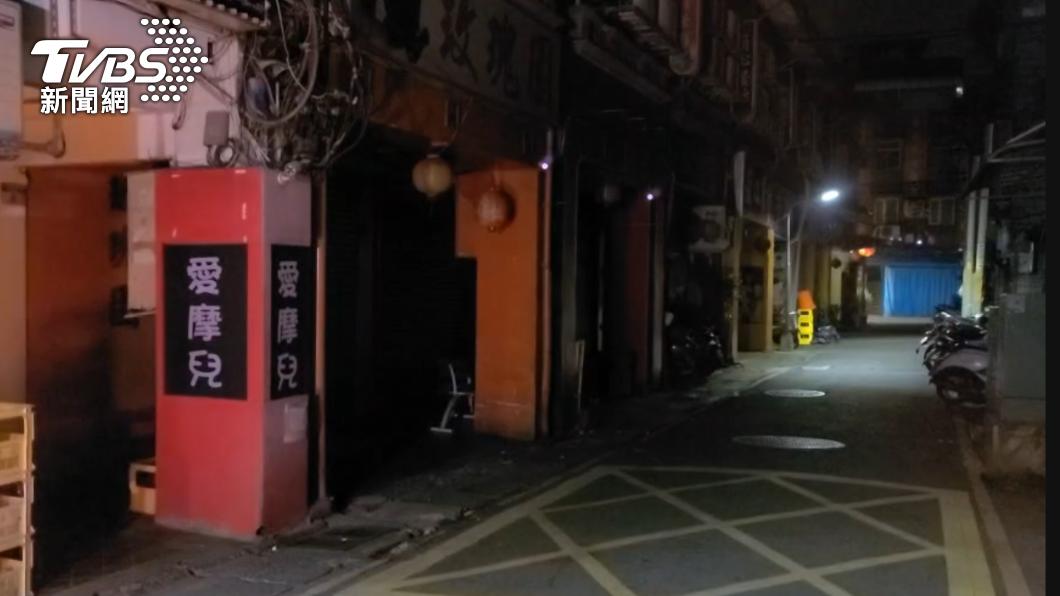萬華阿公店拚9月復業。(圖/TVBS) 萬華阿公店拚九月復業 北市三階段去汙名「色情零容忍」