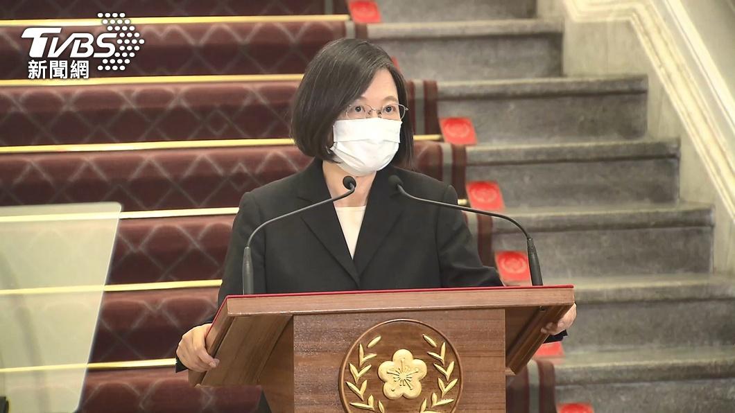 總統蔡英文。(圖/TVBS資料畫面) 5天內兩度停電 蔡英文致歉:我也很難接受