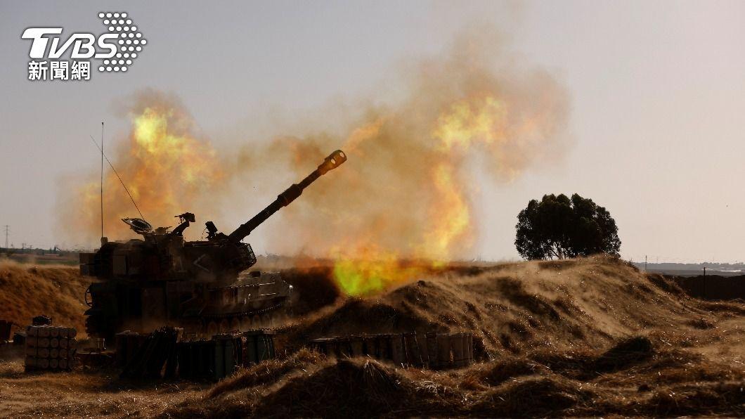 以色列部隊已攻入加薩走廊。(圖/達志影像路透社) 以巴衝突釀逾百死 以色列軍人攻入加薩走廊