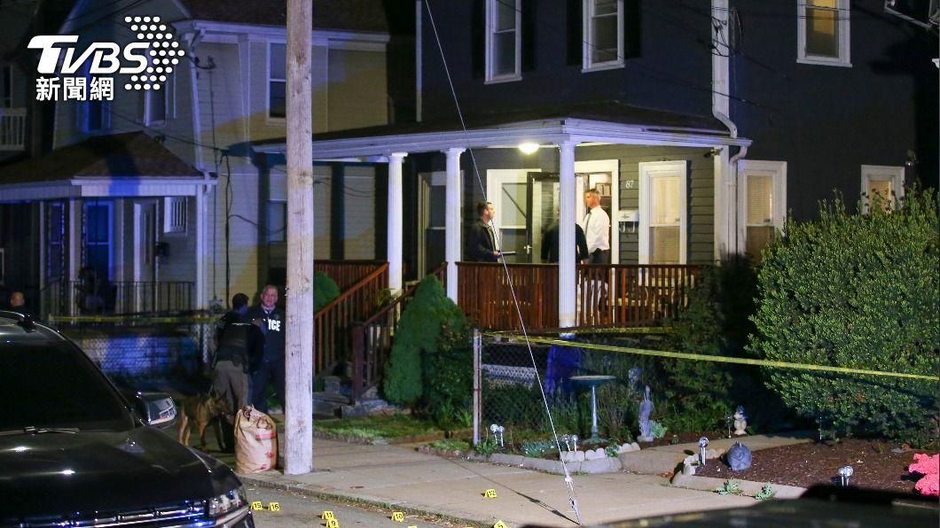 美羅德島爆發槍擊案。(圖/達志影像美聯社) 美國羅德島州首府史上最大槍擊案 9人送醫3命危