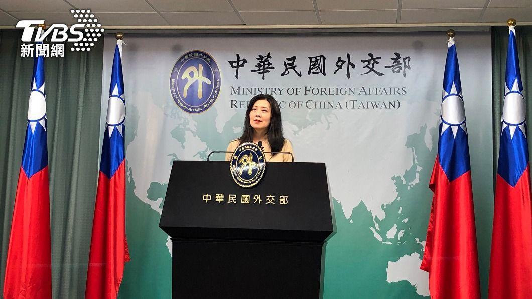 外交部發言人歐江安。(圖/中央社) 美關切外籍看護權益 外交部:協同相關部會溝通