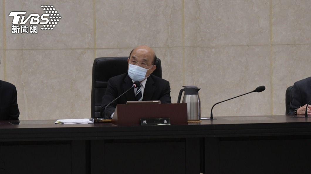行政院長蘇貞昌。(圖/中央社) 513大停電為人為疏失 蘇貞昌要求釐清相關責任