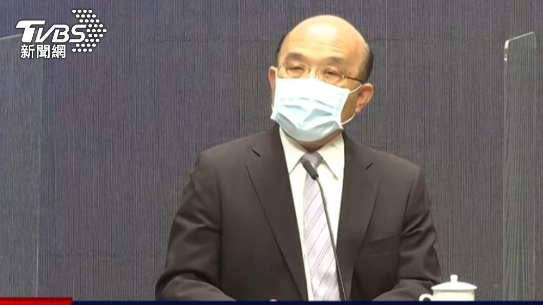 行政院長蘇貞昌。(圖/TVBS資料畫面) 民眾憂再度分區限電 蘇貞昌要求台電:維持電力穩定
