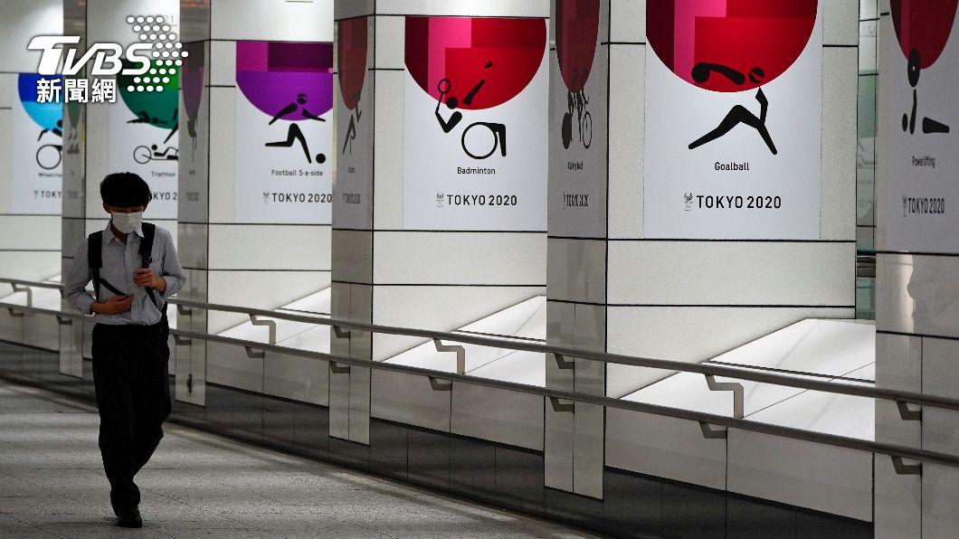 東京奧運是否如期舉辦廣受爭議。(圖/達志影像路透社) 日本疫情嚴峻 重症患者1231人再創新高