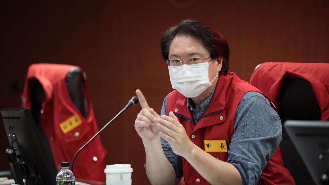 基隆市長林右昌(圖/TVBS) 防疫一體挺雙北 林右昌:基隆採三級警戒防疫措施