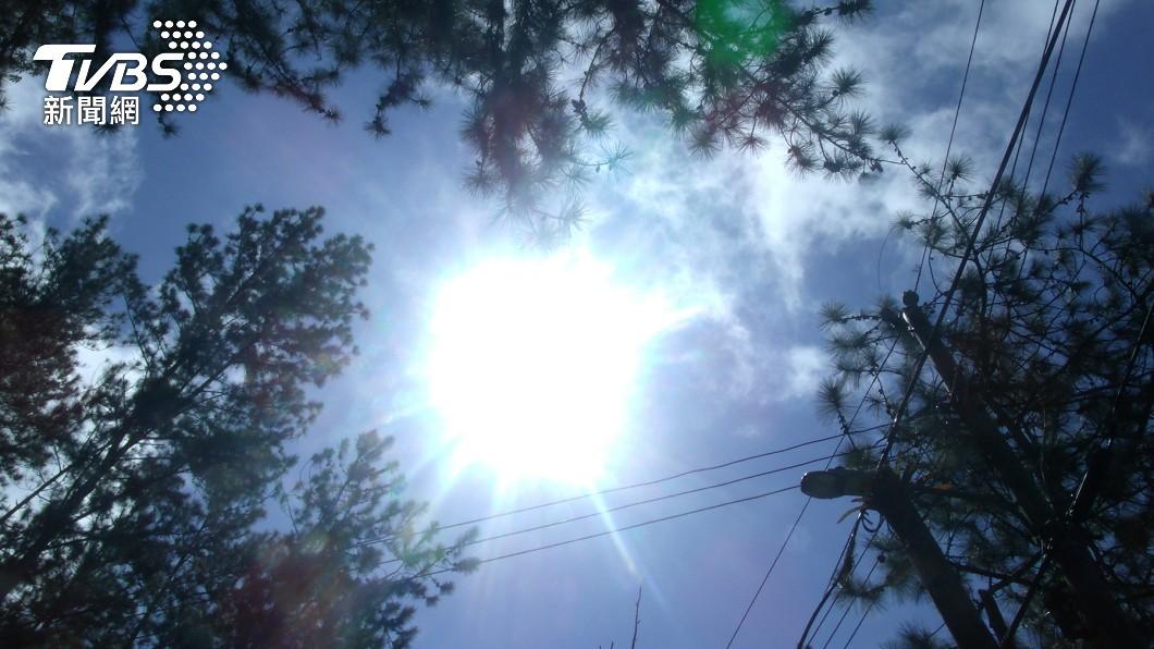 明日台南及高雄有局部38度以上極端高溫的發生機率。(示意圖,與本事件無關/shutterstock達志影像)  台南、高雄明飆破38度熱爆 下週將現罕象「超級血月」