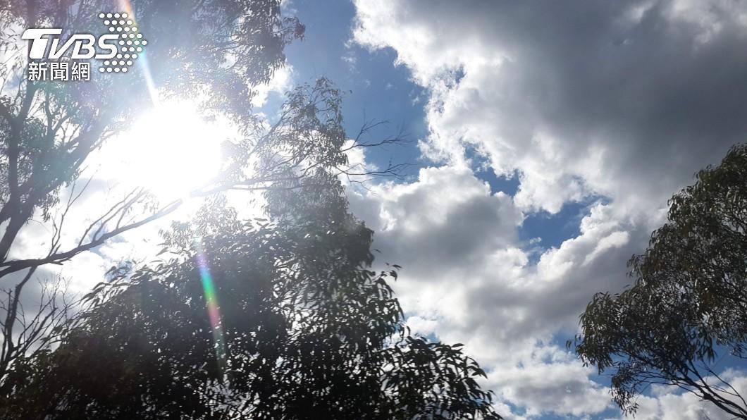 (示意圖/shutterstock 達志影像) 北部東部高溫上看36度 中南部上午留意強降雨