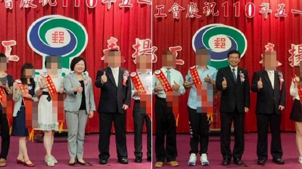 郵局快篩陽性員工曾出席5/10活動,行政院部長也在列。(圖/TVBS) 獨/郵局快篩陽性幹部百人聚會 交長、勞長也在場