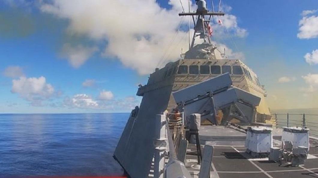 美日法聯合軍演 法軍艦經台灣海峽前往參與