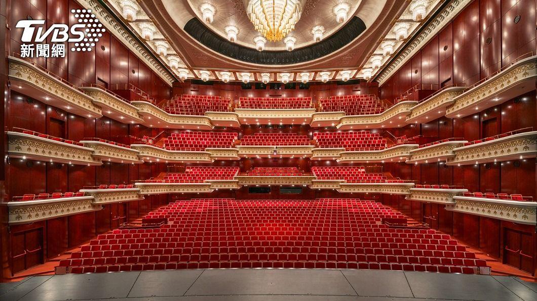 圖為國家戲劇院場地。。(圖/中央社) 藝文營運損失補助專案 線上申請系統今啟用