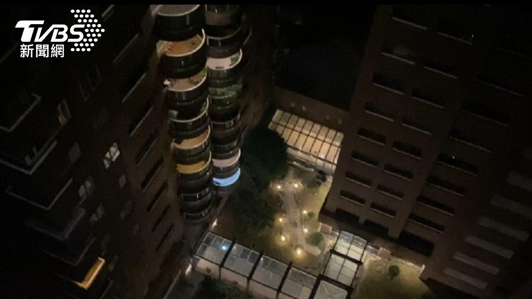 台電發出細胞簡訊將從晚間訊將從晚間8點50分起分區輪流限電。(圖/TVBS) 分區輪流限電自8點50分起 首輪193萬戶受影響