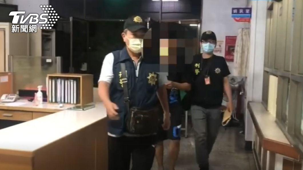 昨晚網上流傳內埔有確診案例的假消息。(圖/TVBS) 屏東大消毒網上瘋傳內埔確診 警方逮捕造謠男