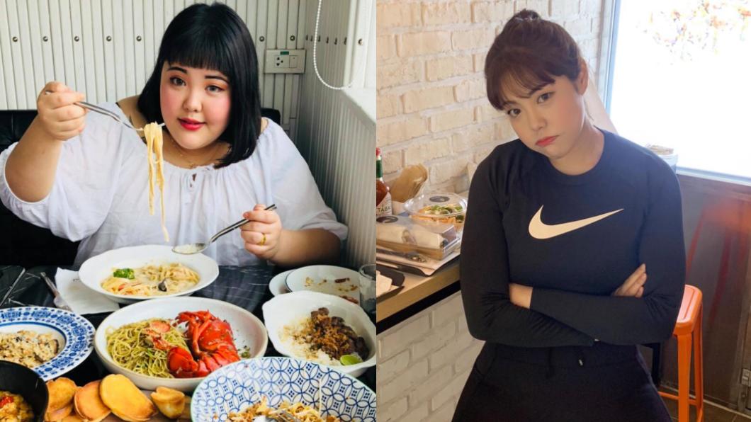 南韓吃播網紅楊秀彬因工作關係,體重一度高達131公斤。(圖/翻攝自Yang Soobin 臉書) 網紅靠「2招」減肥48公斤 驚呼「那些肉去哪了」