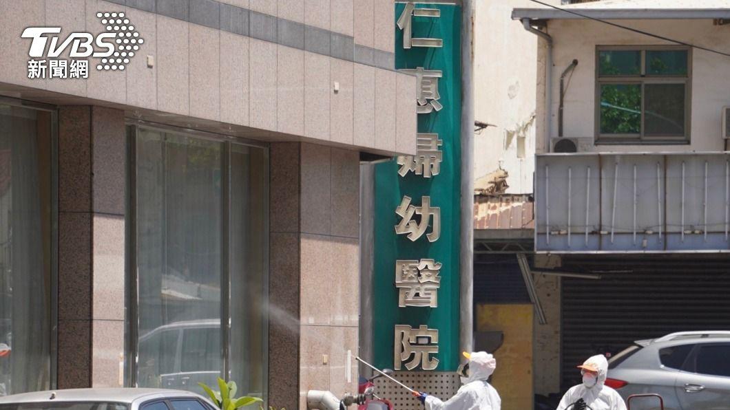 仁惠醫院傳確診個案。(圖/中央社) 高市8本土病例匡列189人 確診2人無北部旅遊史