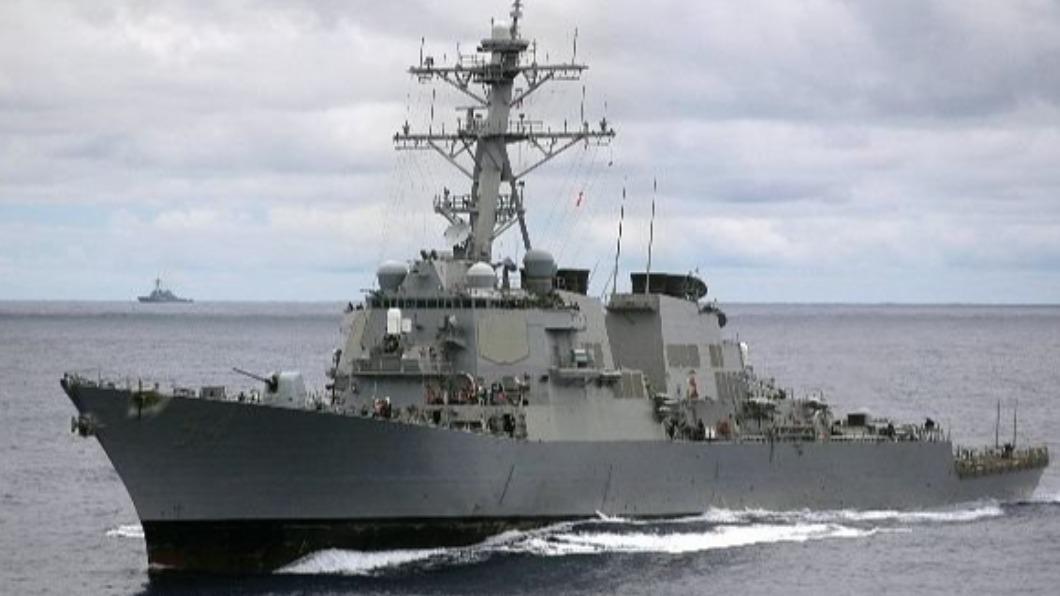 圖/翻攝自美國海軍官網 快訊/美軍證實 驅逐艦「威爾伯號」18日通過台海