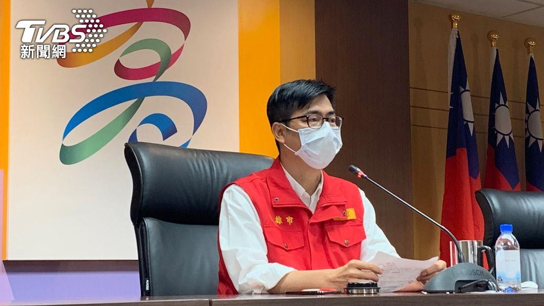 高雄市長陳其邁。(圖/中央社) 高雄「打麻將群聚擴大」  全案13人染疫