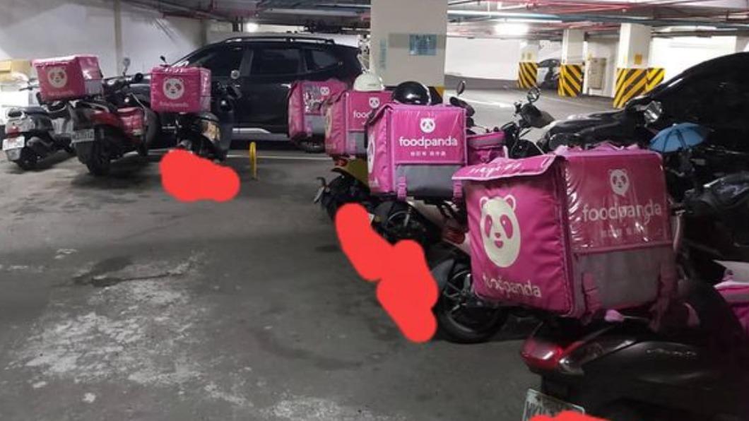 許多熊貓不滿減薪罷工。(圖/翻攝自臉書社團外送員的奇聞怪事) 熊貓疫情期間砍薪!動態加給最低僅10元 外送員嗆罷工