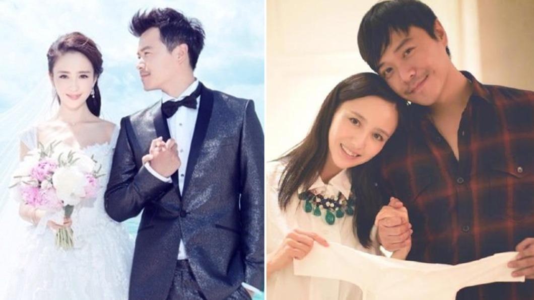 大陸演員佟麗婭、陳思誠宣布離婚。(圖/翻攝自佟麗婭微博、微博) 尪曾爆帶2女過夜 佟麗婭520「11字宣布離婚」