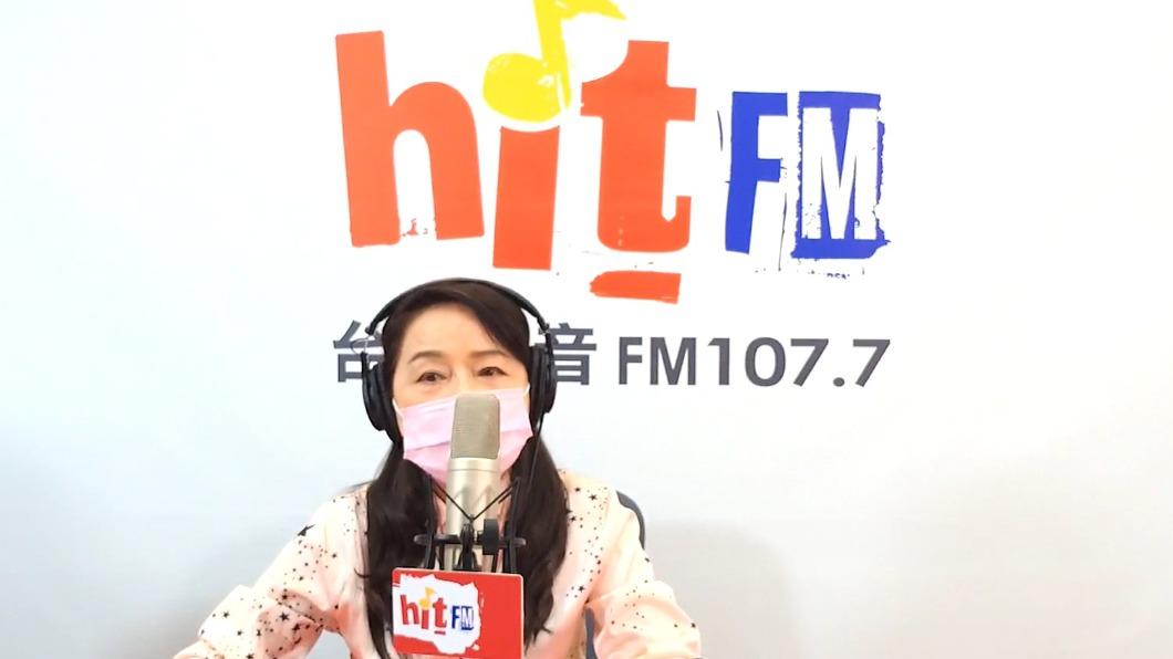 周玉蔻不滿電台節目遭停播。(圖/翻攝自周玉蔻臉書) 周玉蔻不滿電台節目遭停播 HitFM:尊重