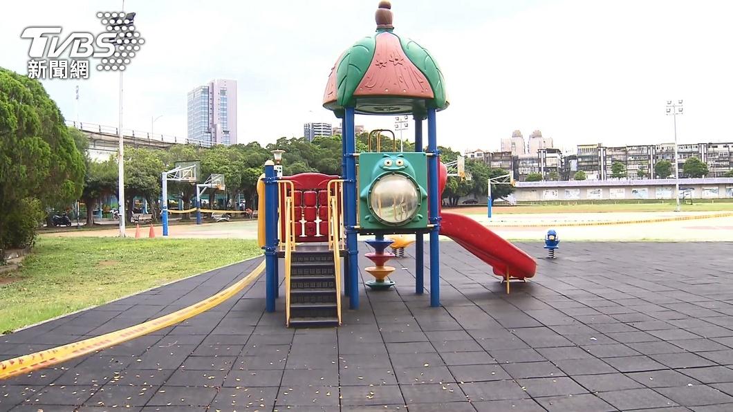 清潔包商於公園吃飯被糾正。(示意圖/TVBS) 公園角落吃飯被嗆「快點戴口罩」 清潔包商嘆:魔人真多