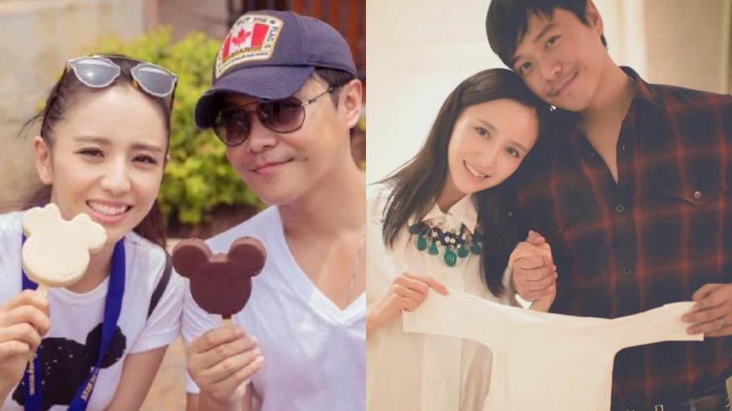 陳思誠、佟麗婭520宣布離婚。(圖/翻攝自微博) 佟麗婭斷6年婚 結婚照驚見「超綠詛咒」