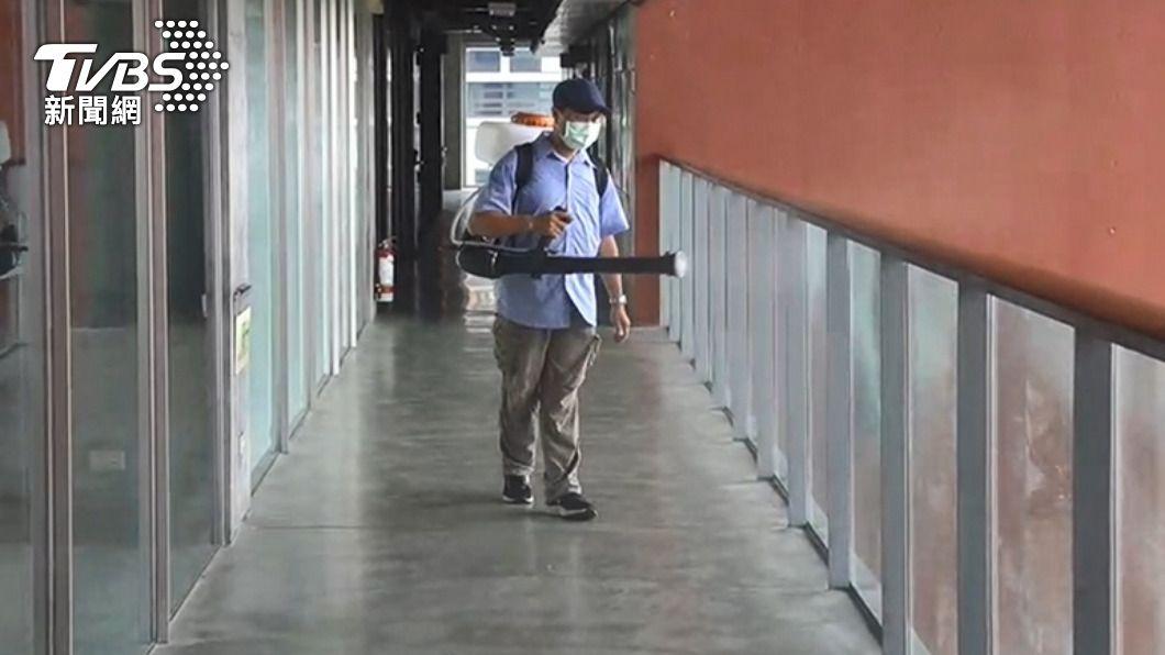 教育部今(21)日公布共有72名學生確診新冠肺炎。(圖/TVBS) 教育部最新統計 學生確診新冠肺炎增17名