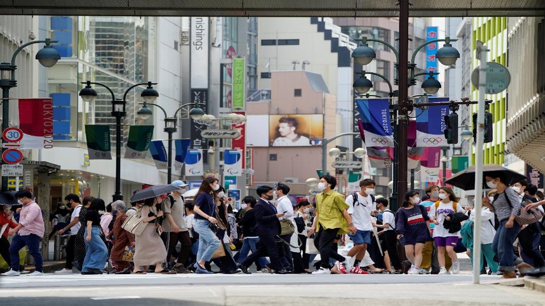 圖/達志影像路透 N501Y病毒流竄 東京單月陽性率爆增45%