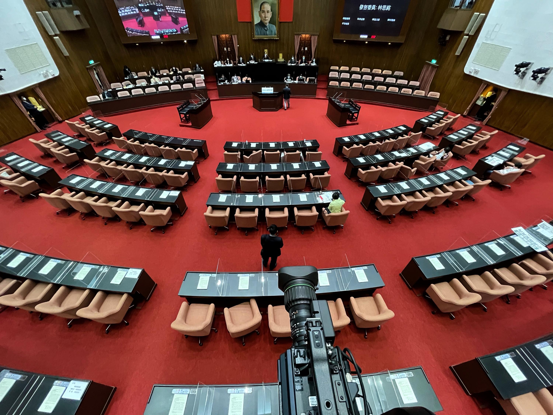 圖/中央社 處理紓困4.0預算案 立院7日協商本週召開臨時會