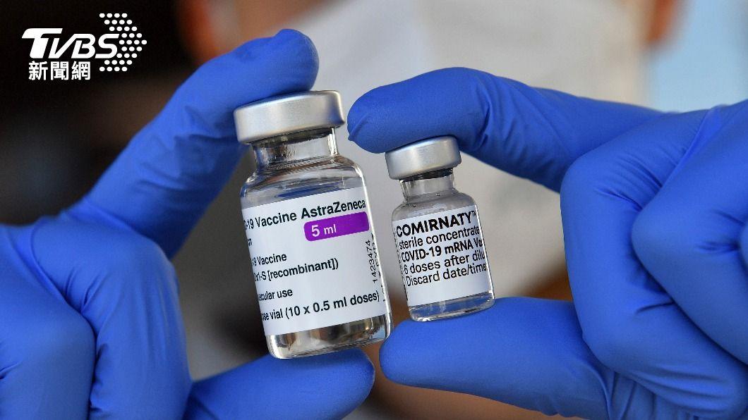 日本考慮提供台灣AZ疫苗來制衡中國。(圖/達志影像美聯社) 日媒:試圖在政治上抗衡中國大陸 考慮提供台灣AZ疫苗