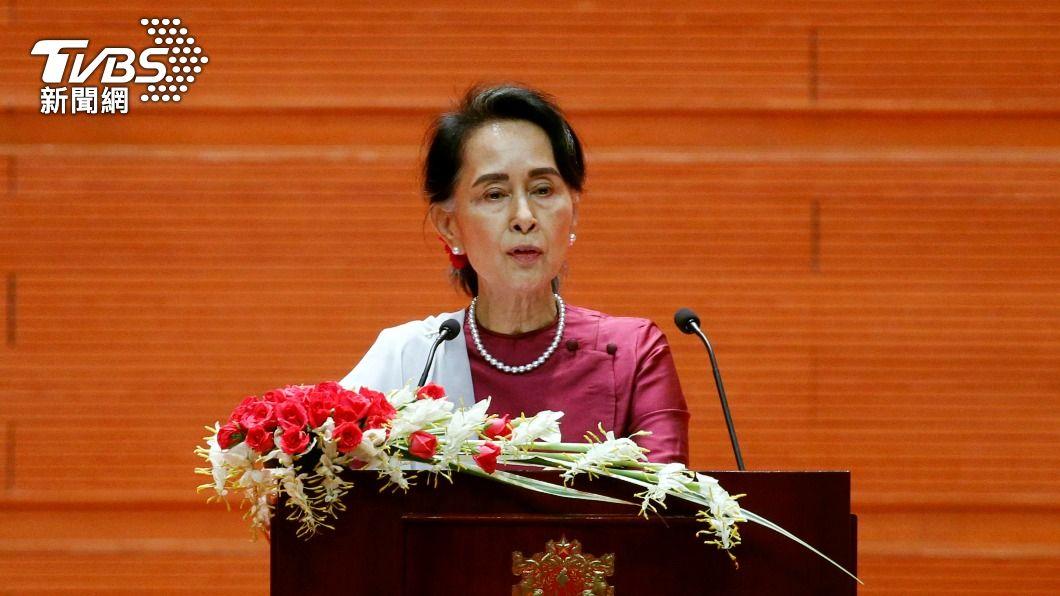 翁山蘇姬。(圖/達志影像路透社) 緬甸政變後 翁山蘇姬首度親自出庭受審