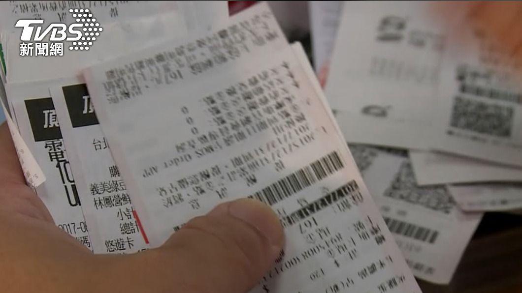 (圖/TVBS) 小確幸!3、4月發票開獎 雲端專屬獎大增40萬組