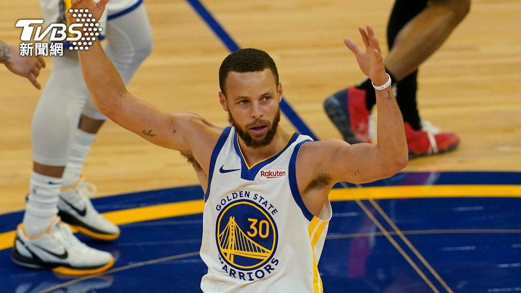 (圖/達志影像美聯社) NBA勇士端超級頂薪 有信心續留得分王柯瑞