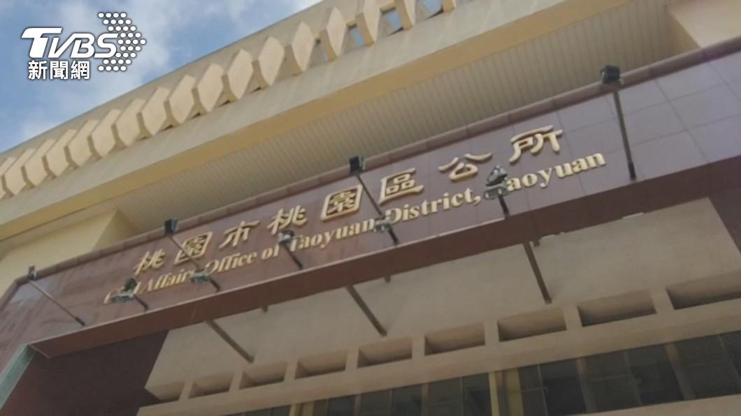 (圖/TVBS) 桃園區公所增1確診  工務局員工因外包商須採檢