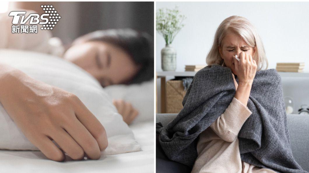 每日睡眠超過6小時可提升免疫力。(示意圖/shutterstock達志影像) 睡不好染疫風險增 醫教這招「抵抗力強4倍」