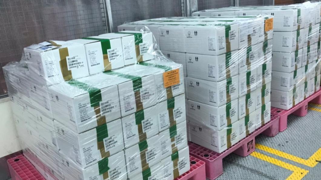 新北市分配到3.9萬劑AZ疫苗。(圖/食藥署提供) 新北3.9萬劑疫苗分配曝 侯友宜下令:5天內打完