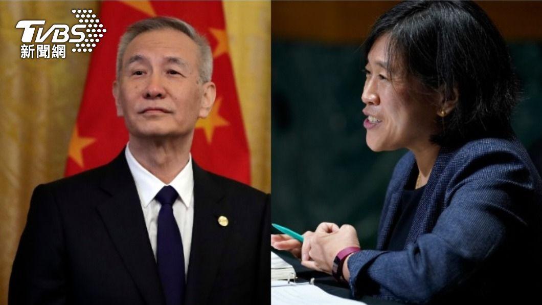 劉鶴與戴琪、葉倫視訊 鋪路重啟美中貿易協商