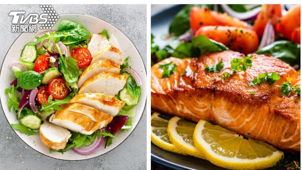 海鮮、肉類富含蛋白質,可增強免疫力。(示意圖/shutterstock達志影像) 營養師激推防疫採買清單!6類食物提升免疫力