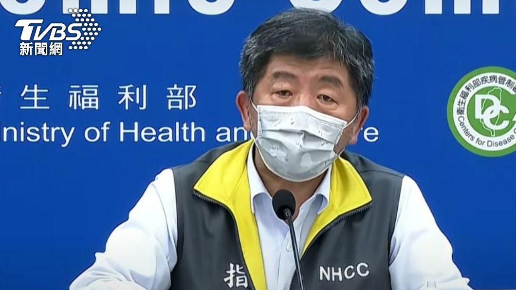 陳時中表示,目前在兩個汙水裡驗到病毒。(圖/TVBS資料畫面) 新冠病毒恐藏汙水!陳時中證實「台灣有2處」驗到病毒量