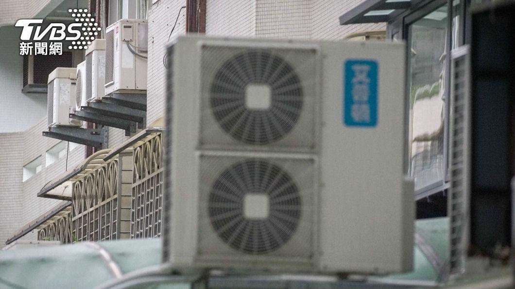 (圖/中央社) 高溫、疫情與景氣3因素夾攻 連2天用電量飆新高