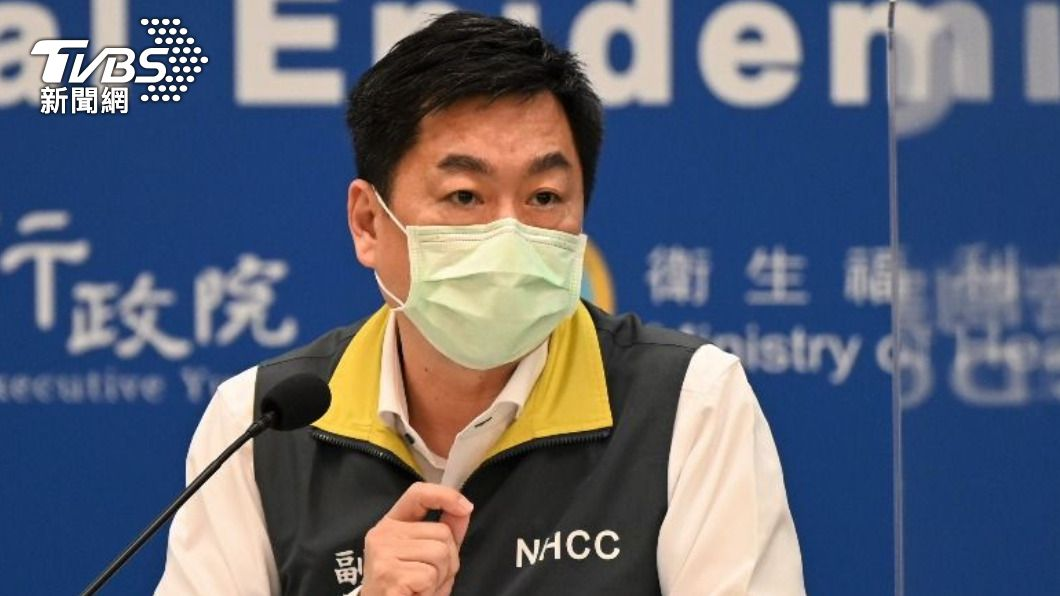 指揮中心副指揮官陳宗彥表示,醫療物資都有撥下去。(圖/TVBS) 雙北醫護爆「N95重複戴」物資缺乏 指揮中心急消毒