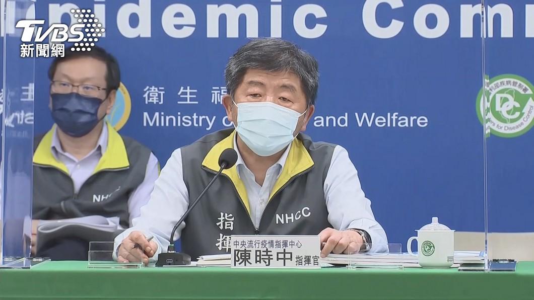 指揮官陳時中。(圖/TVBS) 封城、大規模打疫苗「回歸+0」? 陳時中:也不會清零