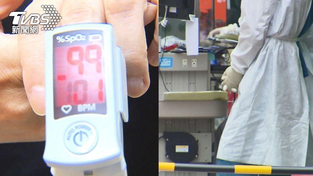 近日許多人搶買血氧機。(圖/TVBS) 憂「快樂缺氧」民眾瘋搶血氧機 食藥署:千萬勿網購