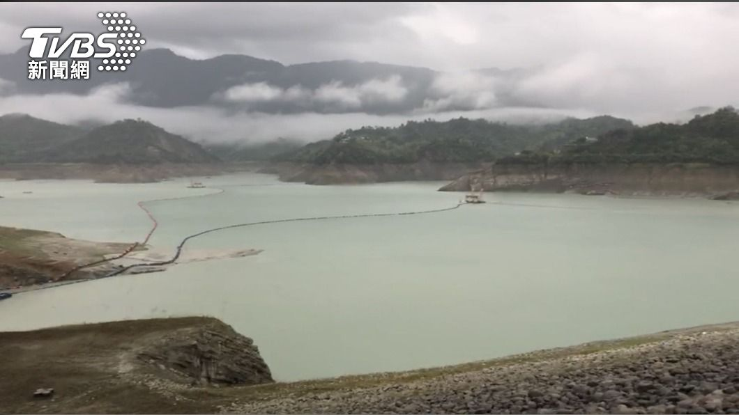台南3大水庫進帳。(圖/南水局提供) 聽見下雨的聲音!台南3大水庫進帳 可供3天使用