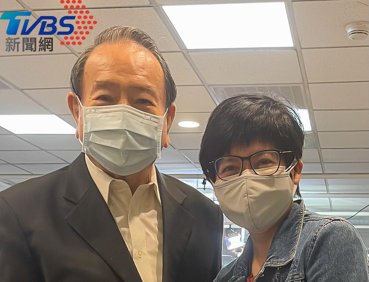 圖/TVBS提供 和傳奇說再見!氣象預報逾半世紀 任立渝5/31光榮退休