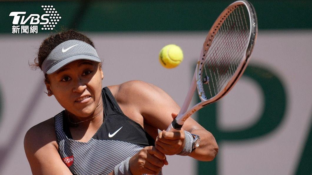 圖/TVBS資料畫面 大坂直美推特發文宣布 退出法國網球公開賽
