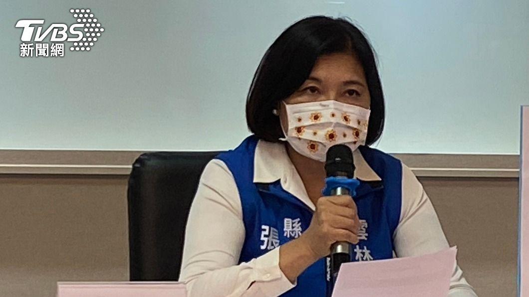 雲林縣長張麗善表示6497位鄰長將納入下一波接種名單。(圖/中央社) 跟進台中 雲林縣將鄰長列入疫苗優先施打對象