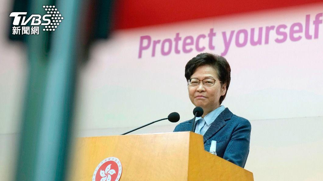 香港特首林鄭月娥。(圖/達志影像美聯社) 多出的疫苗送台灣? 林鄭:多國要求港方轉送疫苗