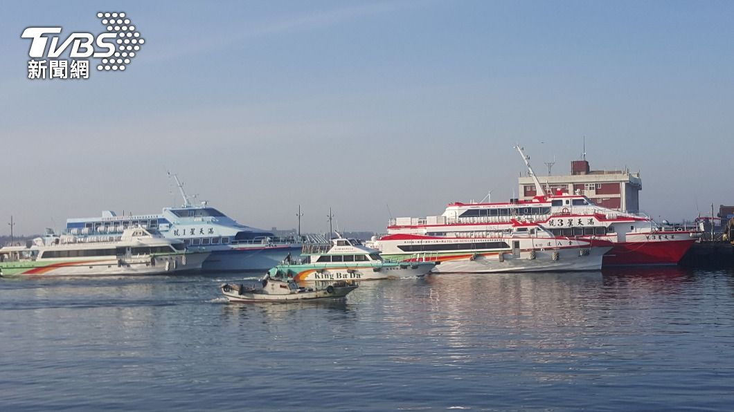 (圖/中央社) 端午連假減少移動 海空運輸僅維持離島基本民行
