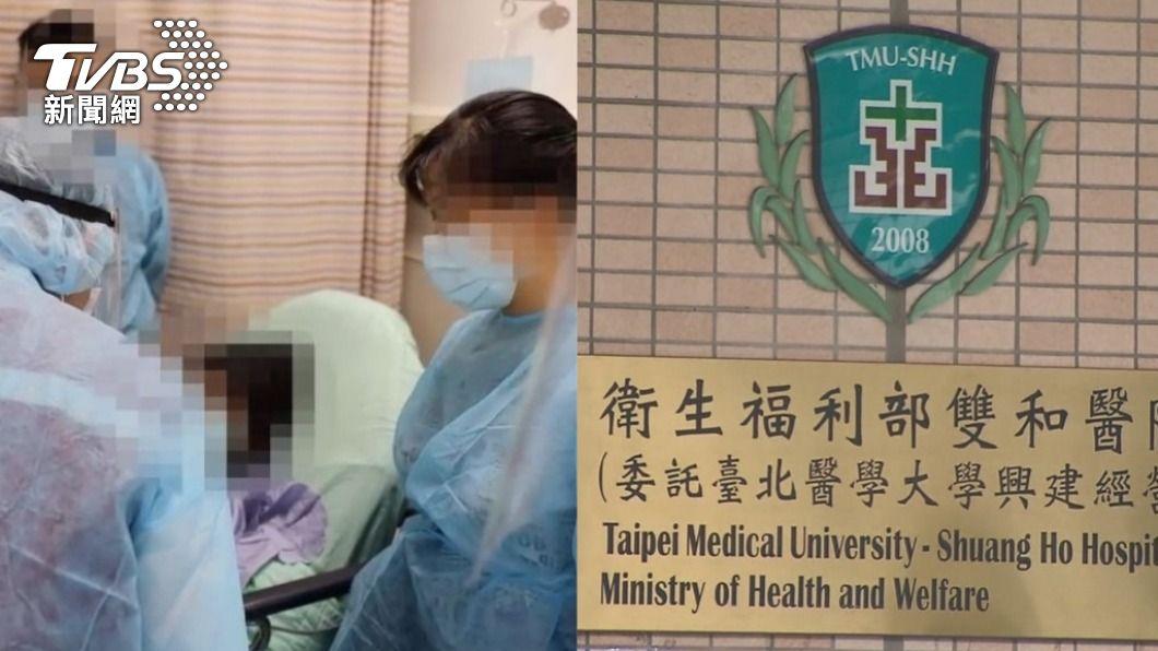 (圖/TVBS) 砍傷雙和醫院3護理師 確診男被依殺人未遂起訴